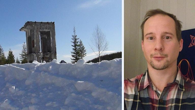 Erik Isaksson, stadsplanerare i Älvsbyn, förbereder en gruva i Laver genom att försöka få fram villatomter i Vistträsk.
