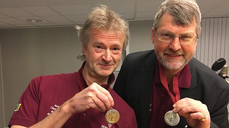 Rikard Granberg och Jerker Delsing