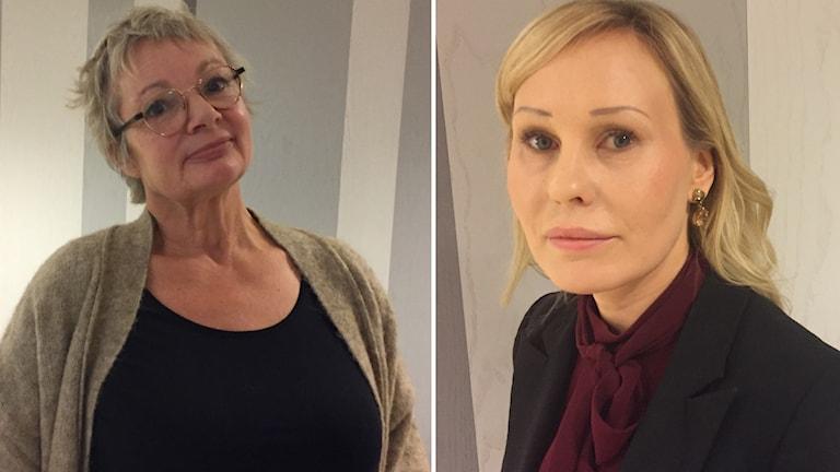 Åse Schoultz och Lisa Länta