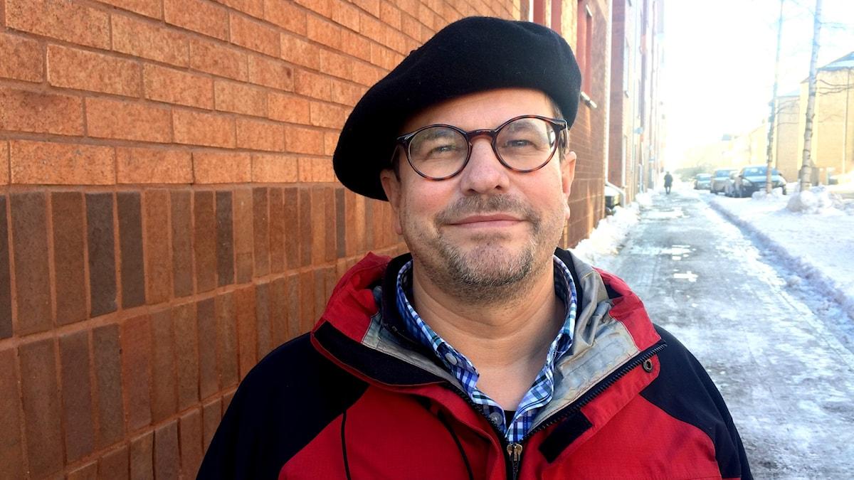 Prästen Mogens Amstrup Jacobsen.