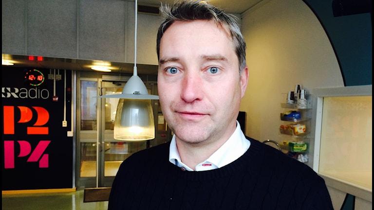 Mikael Lundman ordförande Företagarna i Gällivare