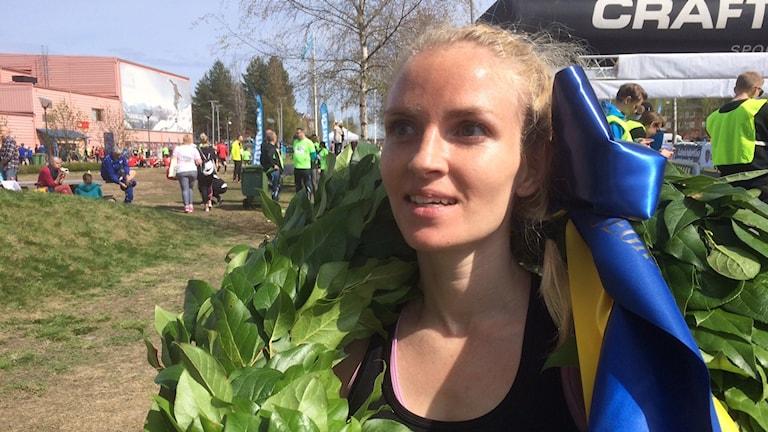 Elisabeth Clausén vann damklassen