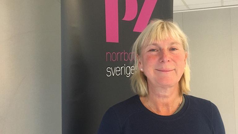 Ninna Hallberg. Foto: Anneli Lindbäck/Sveriges Radio