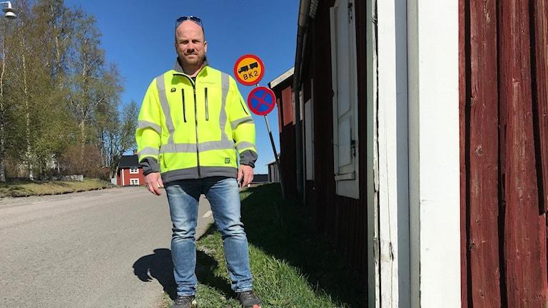 Fredrik Olofsson projektledare på Trafikverket.