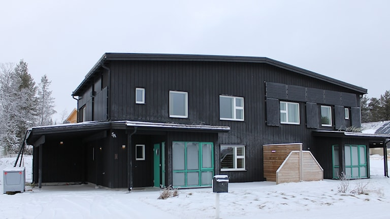 Det går inte att göra relevanta mätningar av hur det påkostade passivhuset i Tuolluvaara utanför Kiruna fungerar.
