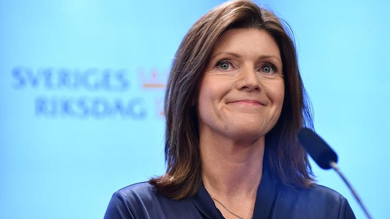 Eva Nordmark (S), ny arbetsmarknadsminister.