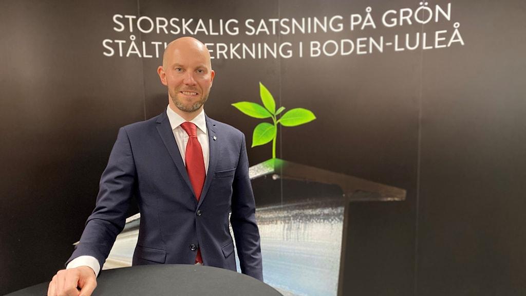 Claes Nordmark (S), kommunalråd i Boden.
