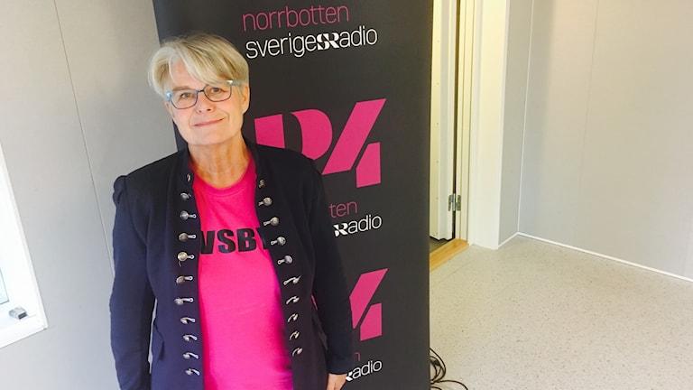 Helena Öhlund (S), kommunalråd i Älvsbyn.