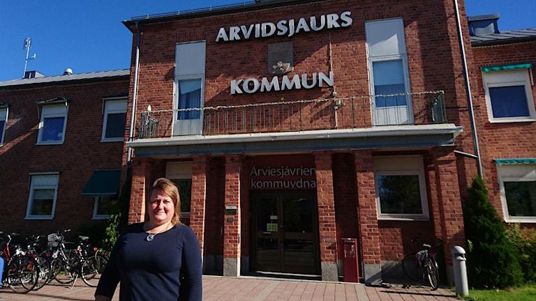 Ann Engberg. Foto: Beatrice Karlsson/Sveriges Radio.
