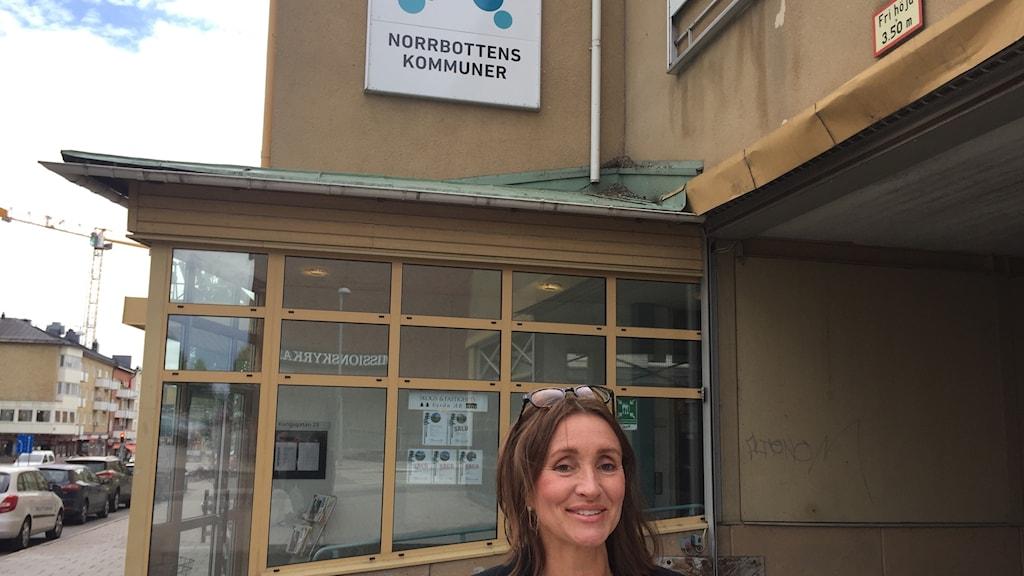 Kajsa Myrberg, direktör vid Norrbottens Kommuner