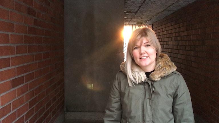 Amanda Eriksson handläggare inom civilt försvar Enheten för Samhällsskydd
