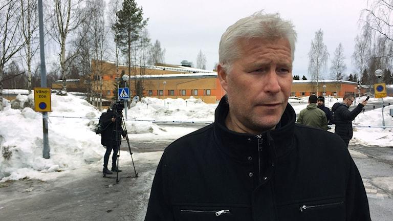 Anders Resin, rektor på Norrskenets friskola i Luleå.