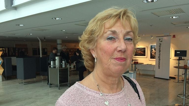 Åsa Sjöström Ross, inspektör på Arbetsmiljöverket.