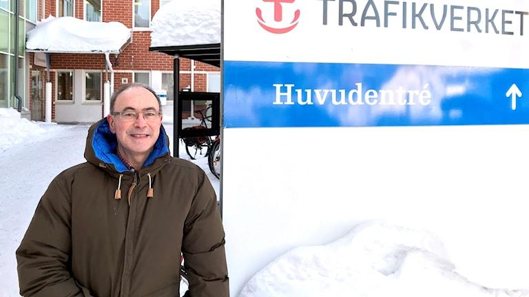 Stephen McLearnon, nationell planering på Trafikverket.