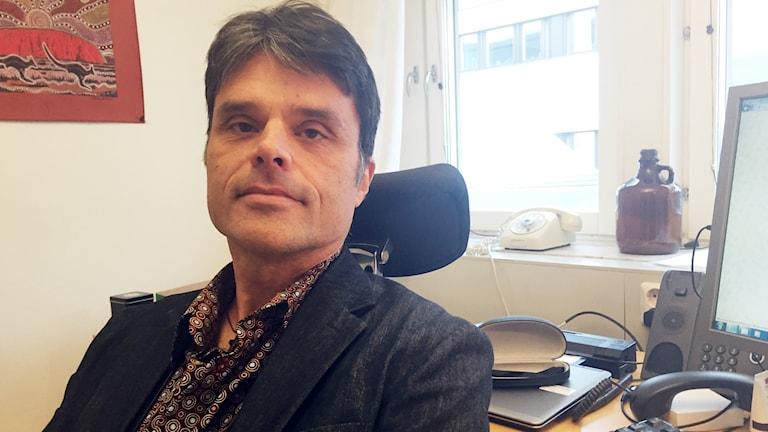Anders Bergström, läkemedelschef, Norrbottens läns landsting.