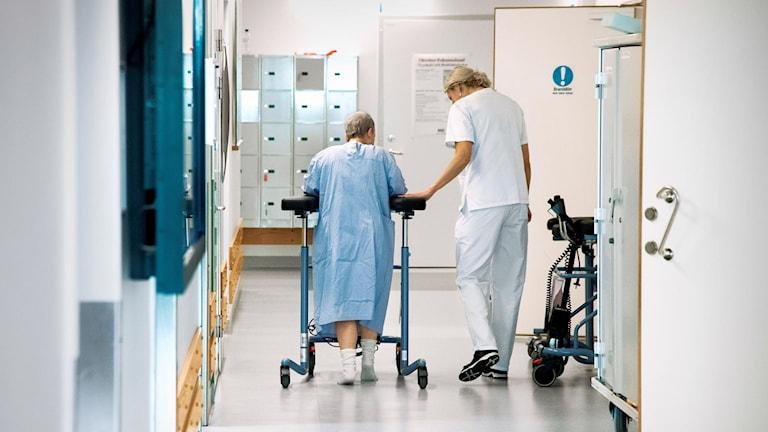 Det råder personalbrist på Sunderby sjukhus.