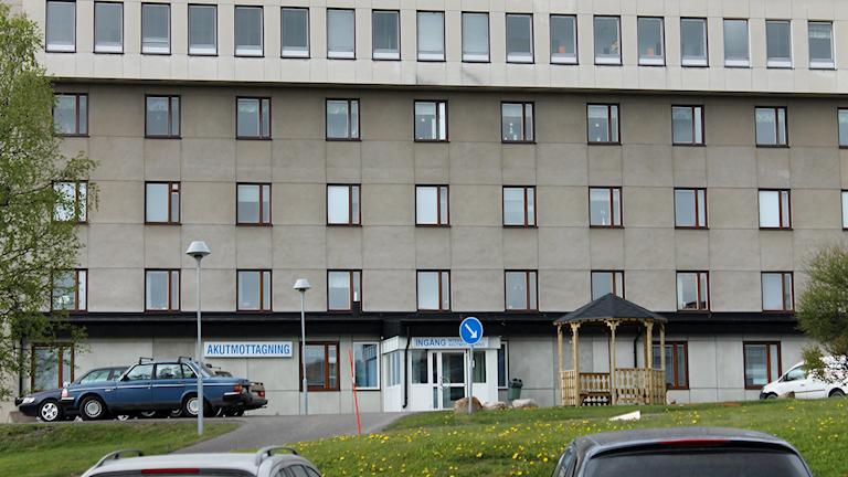 Kiruna sjukhus.