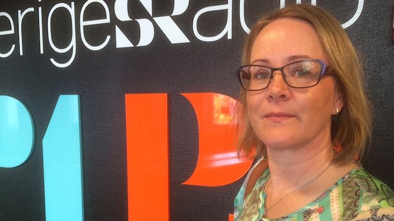 Maria Stenberg, socialdemokratiskt landstingsråd.