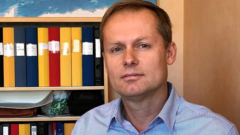 Peter Manner, tillförordnad näringslivschef i Arvidsjaur.