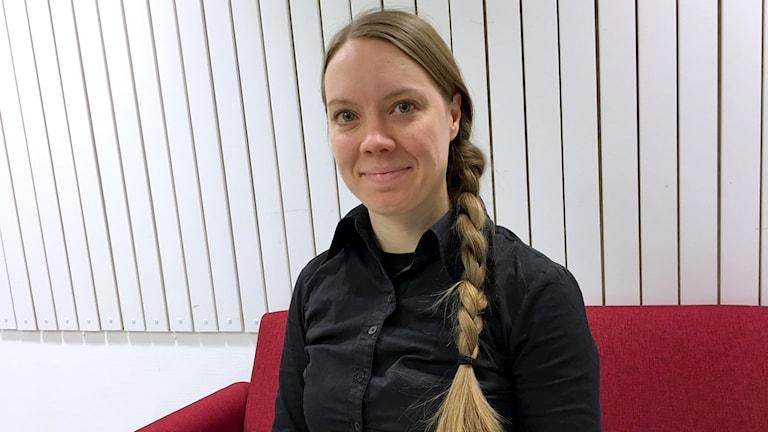 Milka Jafri, på Resurscentrum för litteratur