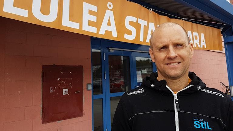 Stefan Mukka, tävlingsledare stadsmaran