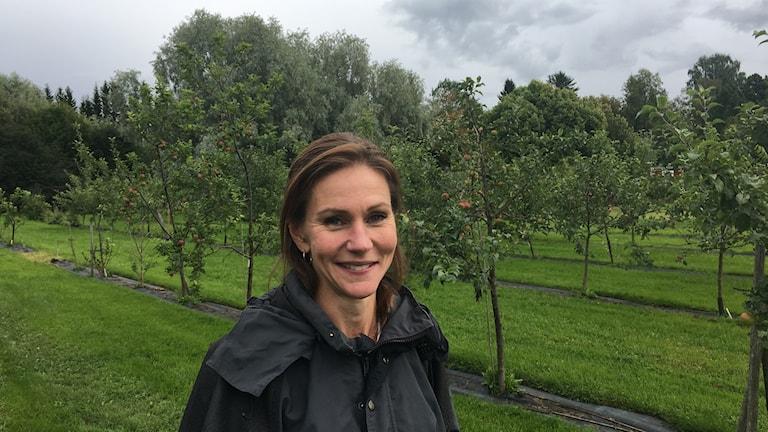 Projektledaren Sara Byström, Agro park, Öjebyn.