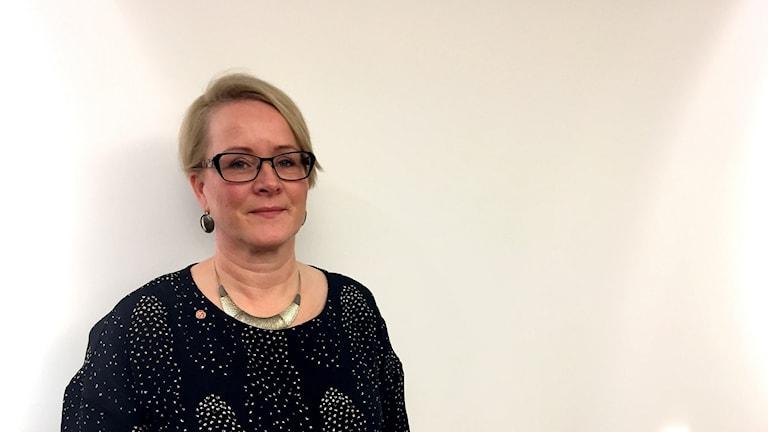 Maria Stenberg, landstingsråd för Socialdemokraterna.