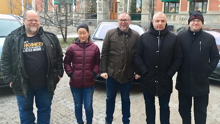 Ida Karlsson Fredrik Sandberg  Peter sundfeldt Tibor blomhäll