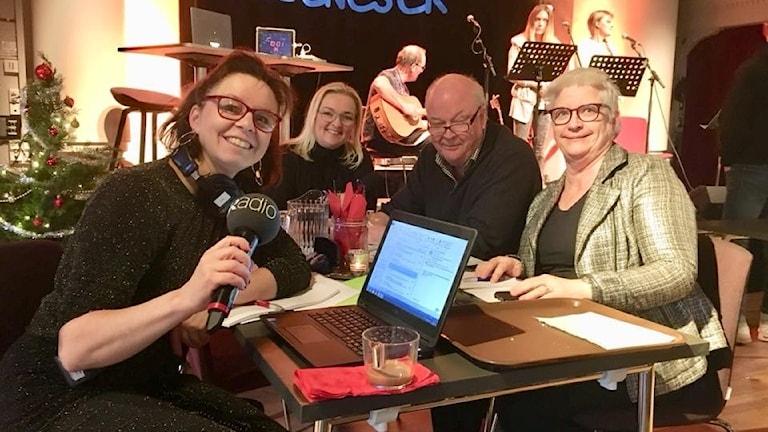 Lena Callne, Anna Fjellström, Hantis Ohlsson, Eivor Bryngelson