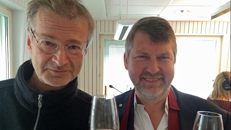 Rickard Granberg och Jerker Delsing, munskänkar från Piteå.