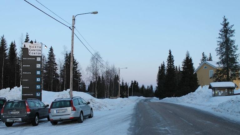 Arkivbild. Masugnsbyn i Kiruna kommun.