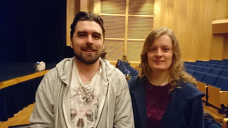 Pontus Hultgren och Hanna Isaksson.