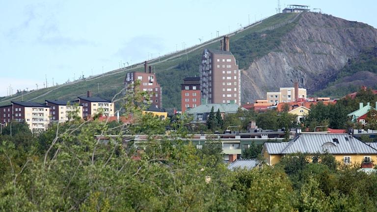 Kiruna centrum.