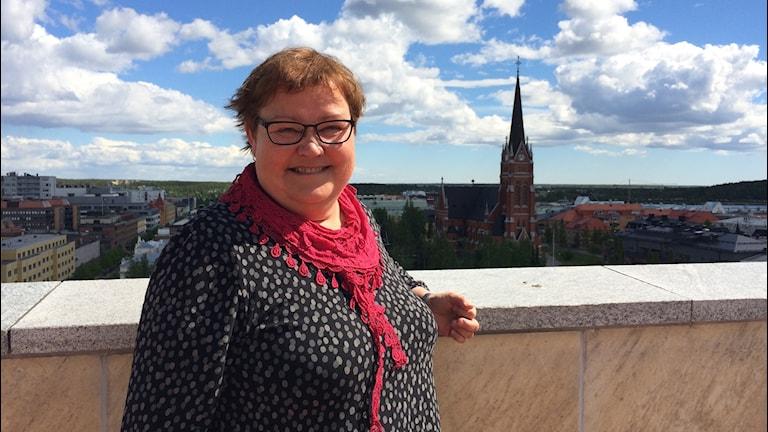 Yvonne Stålnacke är socialdemokratiskt kommunalråd i Luleå.