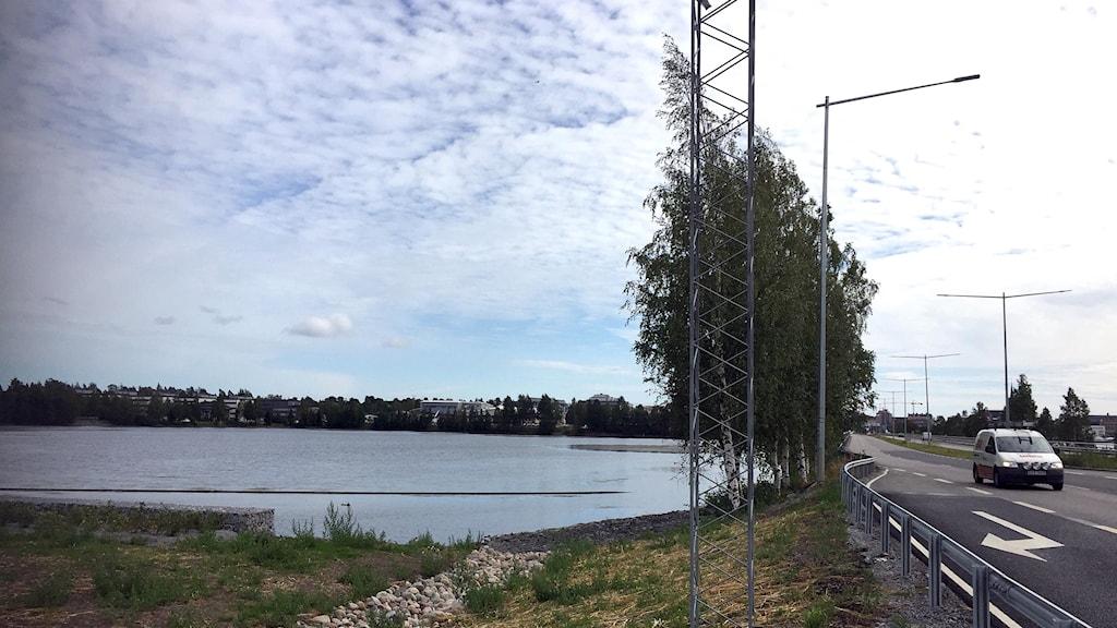 Skutviken, eller Röda havet, i Luleå.