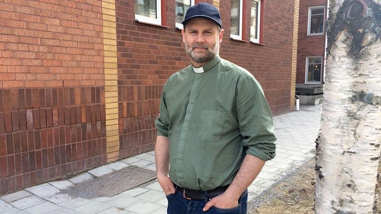 Diakonen Rickard Fjällström, Rörvikskyrkan i Boden.