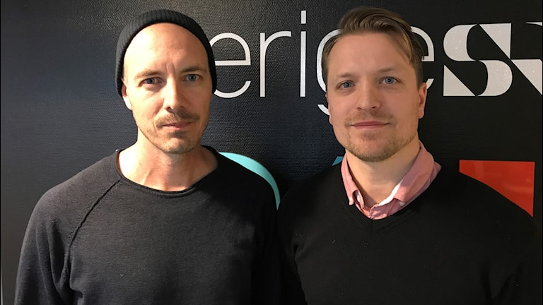 Nicke Nordmark och Kalle Norrbin