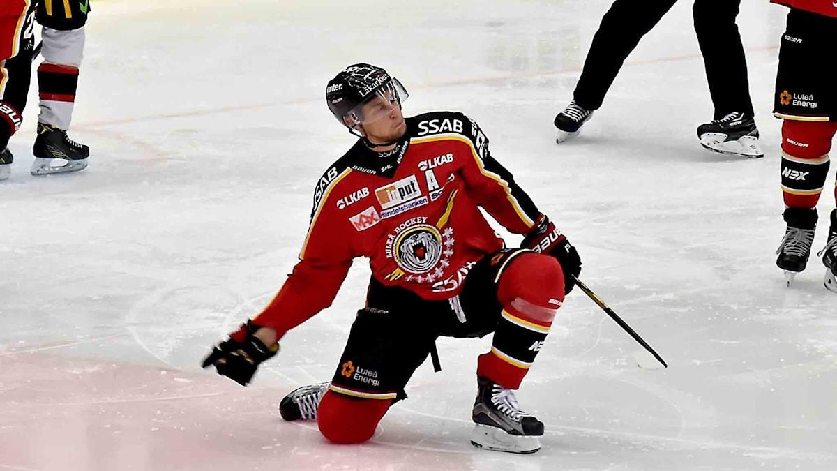 Luleå Hockeys Johan Harju.