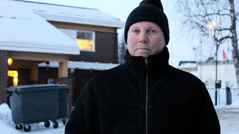 Per-Erik Mukka, ordförande i Naturskyddsföreningen i Kiruna.