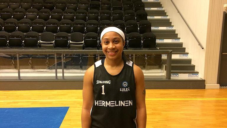 Candice Warthen Luleå Basket