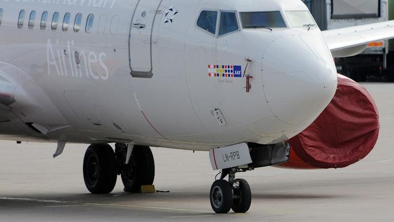 Flygplan på Arlanda flygplats.