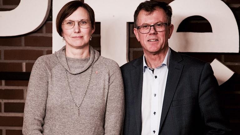 Helena Stenberg och Anders Lundqvist bildar ny socialdemokratisk ledarduo i Piteå.