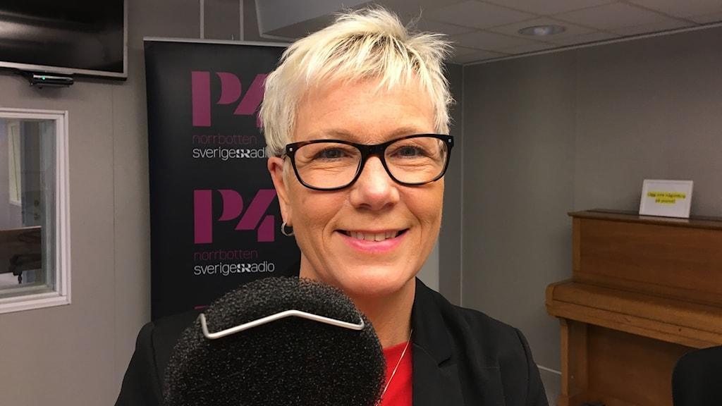 Marianne Kallin, tf avdelningschef på Stadsbyggnadsförvaltningen i Luleå