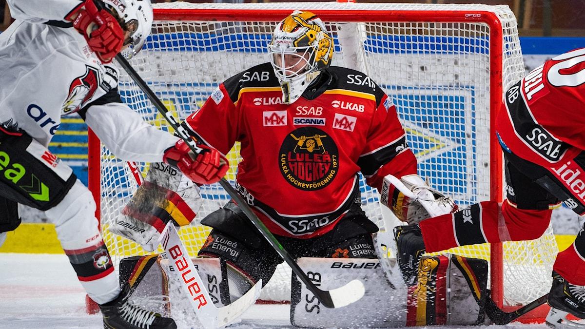 Jesper Wallstedt målvakt Luleå Hockey