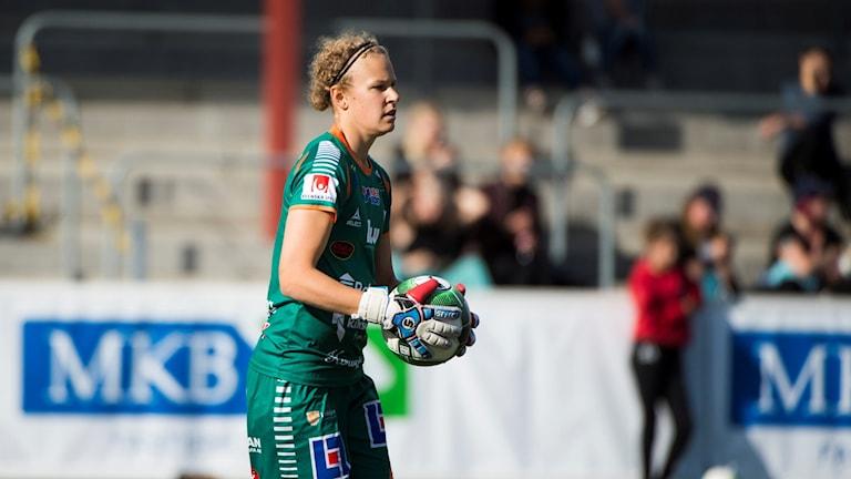Cajsa Andersson. Foto: Emil Langvad/TT