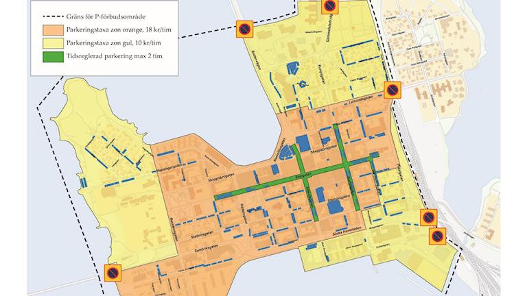 Parkeringszoner Luleå