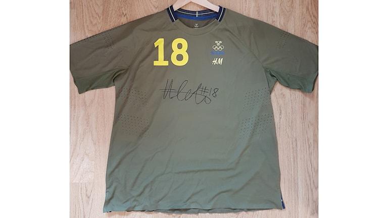 Hilda Carléns OS-tröja.
