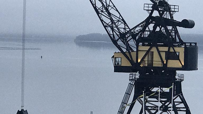 Pimplare ute på isen på södra hamn i Luleå orsakade en utryckning från räddningstjänsten.