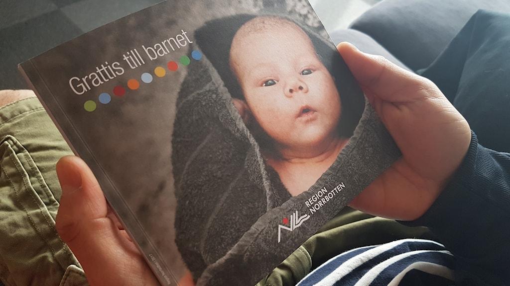 Region Norrbottens bok Grattis till barnet