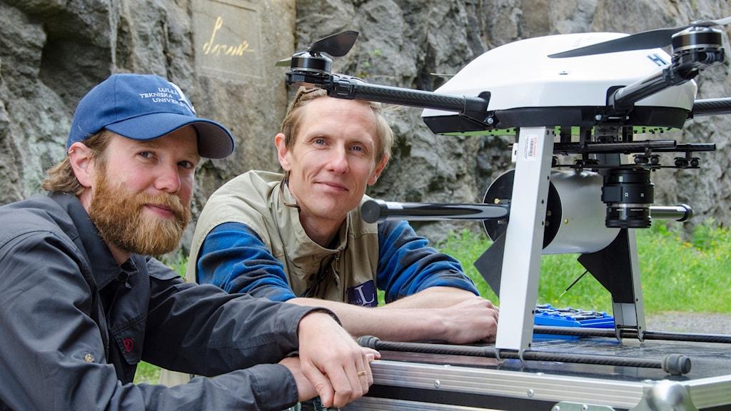 Tobias Bauer och Joel Andersson
